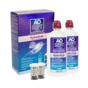 AoSept Plus with HydraGlyde (2*360 ml)