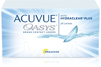 Acuvue Oasys with Hydraclear Plus (12 buc)